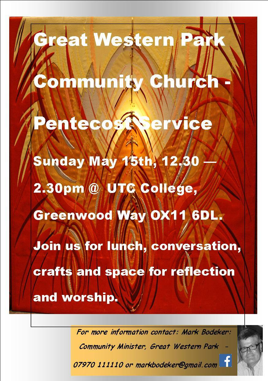 Community Church 15th May 2016