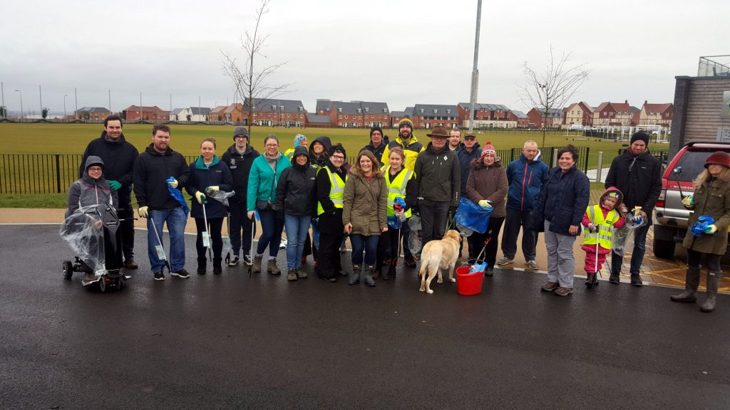 Litter Picking Group Photo